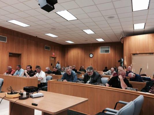 County board photo