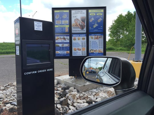 Opa! Gyros' new location on Wausau's north side has a drive-thru.