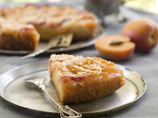 FEA peach cake