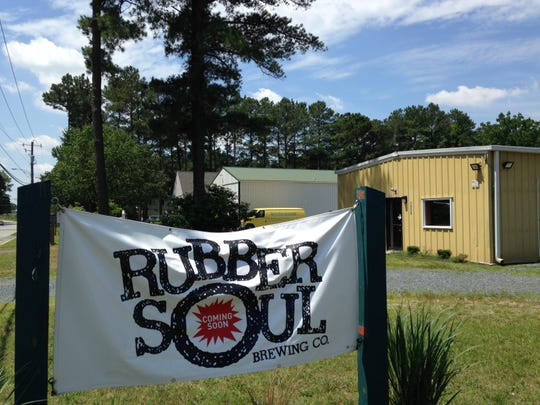 Rubber Soul Brewing is a bicycling- and Beatles-themed