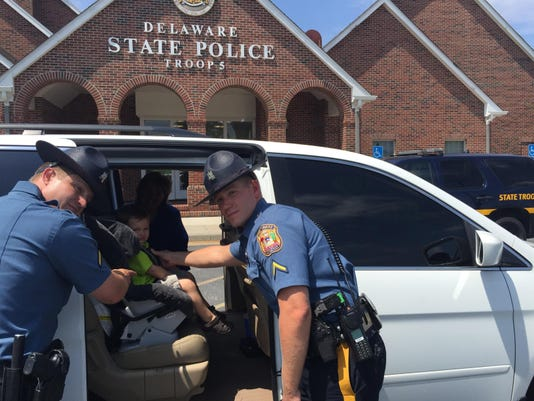 Delaware Police Offer Free Checks Of Kids Car Seats