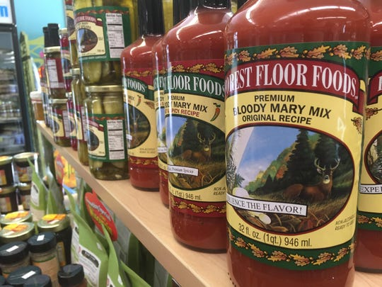 """Forest Floor Foods from Eden is one of the many brands of local """"party food"""" available at Eaton's Fresh Pizza."""