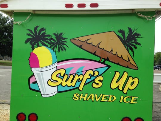 Surf's Up Shaved Ice returns to the corner of North Highland Avenue and Hughes Drive.