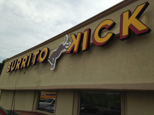 Burrito Kick has opened at 1939 U.S. 45 Bypass and Carriage House Drive.