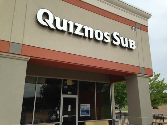 Quiznos Sub is closed at 1081 Vann Drive.