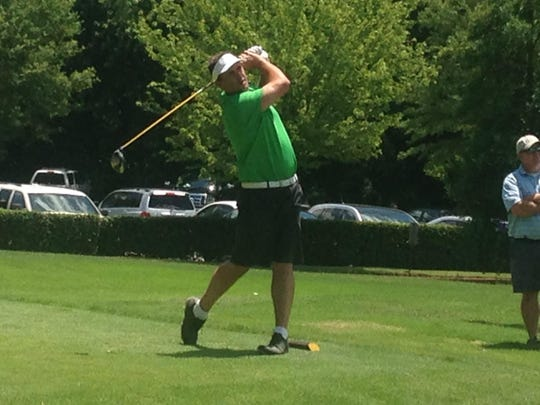 Jeff Brasfield needed 19 holes Saturday afternoon at