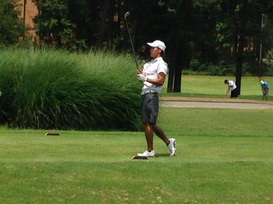 Sydney Chung won the 2015 Stone Cup golf tournament.