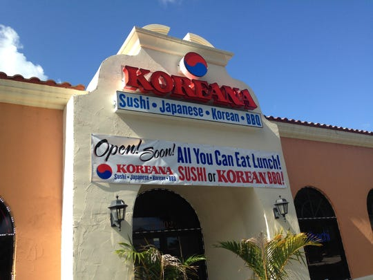 Nami in south Fort Myers has reopened as Koreana Authentic Cuisine.