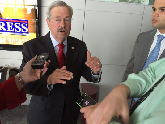 Gov. Terry Branstad at IPTV