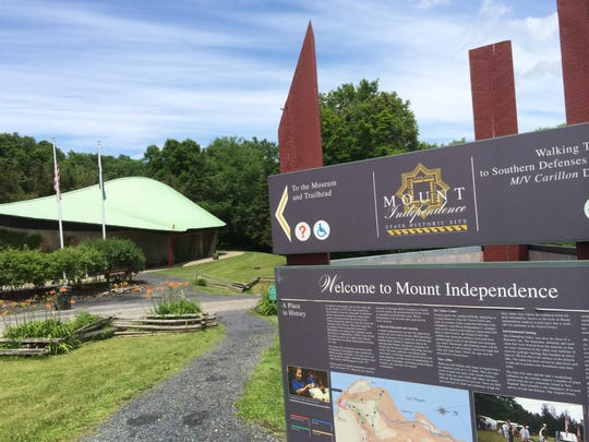 Mount Independence State Historic Site in Orwell.
