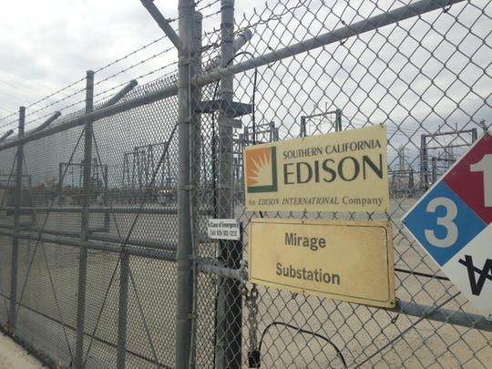 Southern California Edison's Mirage Substation in Thousand Palms.