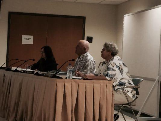 City committee meeting photo