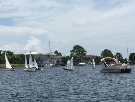 RUM 2015 Youth Regatta Race Start 2