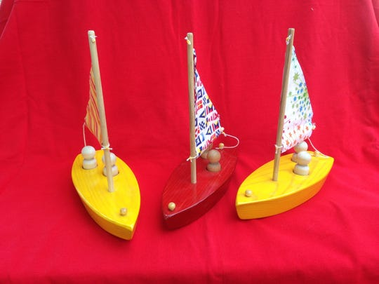 Sailboats by Jake Szramek