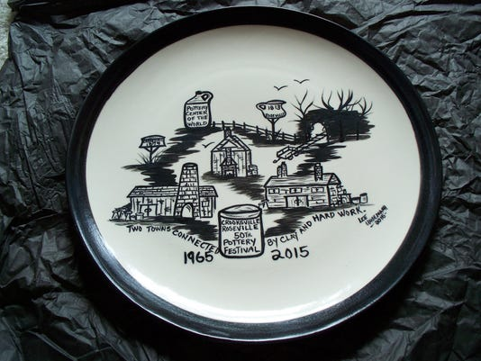 2015 pottery plate