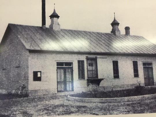A view of the old Clearwater Creamery building in which Clear Waters Outfitting Co. is now located.