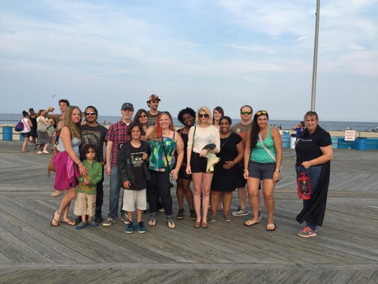 APP staff and tag-alongs before the Ghosts of the Asbury