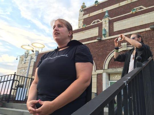 Brooke Nicoletti, a parnormal investigator, talks about