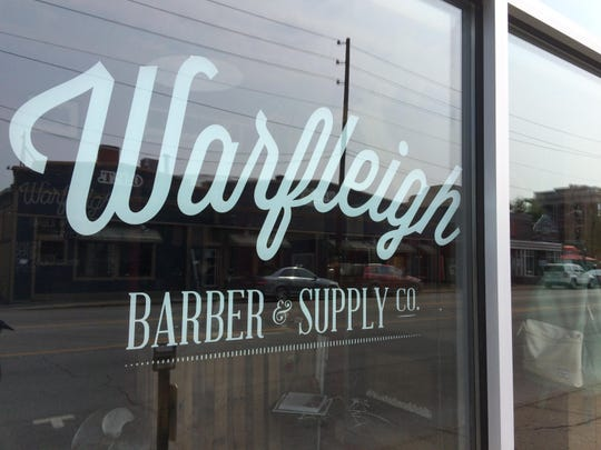Warfleigh offers men's cuts and shaves as well as small gift items.