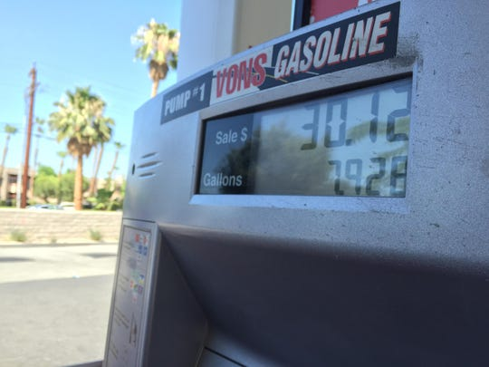 Gas prices have skyrocketed in Southern California in the past week, prompting some customers to fill up less frequently.