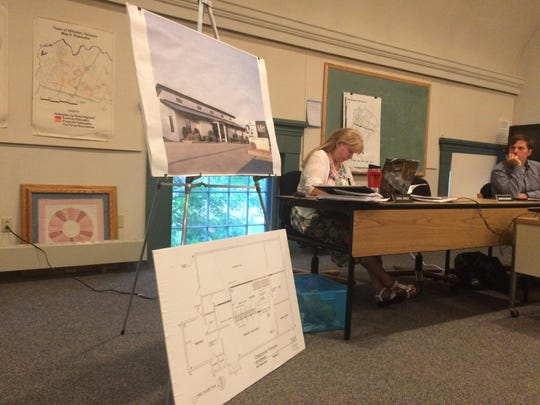 A draft floor plan and outdoor scene of the possible Williston medical marijuana dispensary. Grassroots Vermont, which currently operates as Rutland County Organics in Brandon, has applied to open a pot facility in the Williston industrial district near the South Burlington city line.