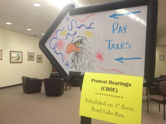 County Taxes owed