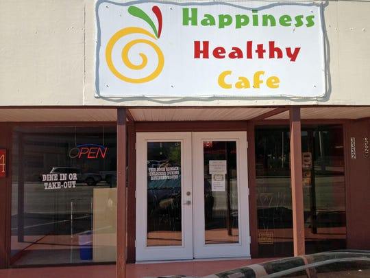 Happiness Healthy Cafe opened in February 2012 on Cleveland Avenue in Fort Myers.