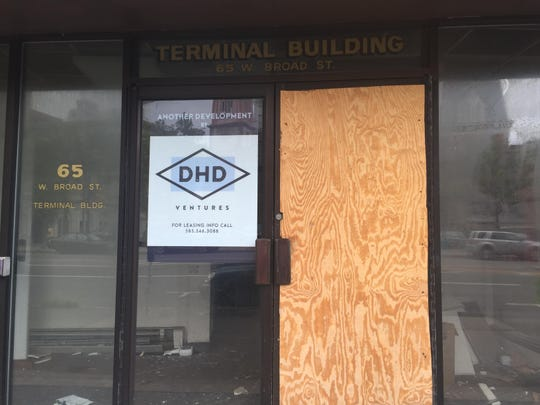 The Terminal Building on West Broad Street. DHD Ventures has proposed a $9.1 million project to renovate the vacant building into 61 apartments. The project was approved by COMIDA on July 21, 2015 for $388,000 in mortgage and sales tax exemptions.