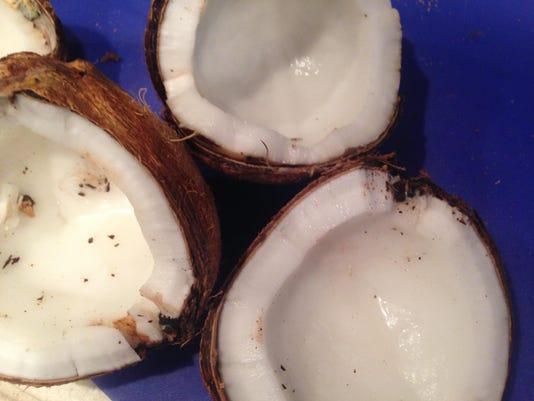 coconuts open