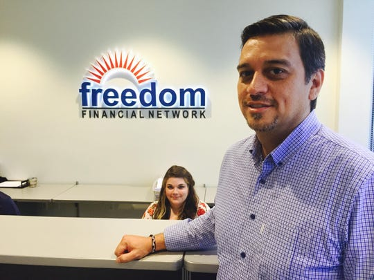 Freedom Financial Network, founded in 2002 and based in San Mateo, California, operates a large and growing office in Tempe, on the south shore of Tempe Town Lake. Freedom Debt Relief is one of its companies.