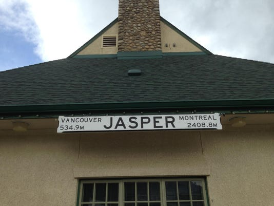 Jasper train station