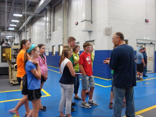 Ag Day Escape participants joined Kondex associates for an educational experience.