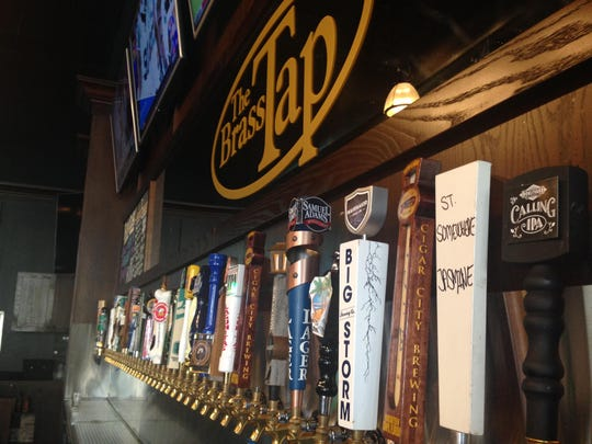 With 60 beers on draft and hundreds more available by bottle, Brass Tap has the perfect beer for whatever your mood (or dish) may be.