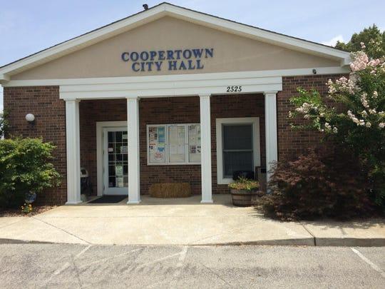Coopertown City Hall.