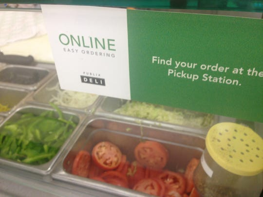 Publix deli offers online ordering for its sub customers.