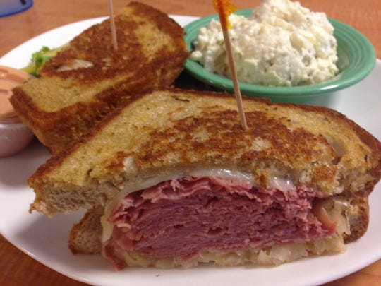 The Reuben at Biggy's Place is a lunchtime customer favorite.