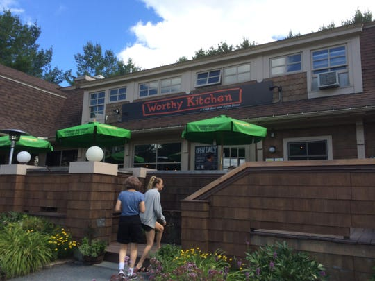 Worthy Kitchen is located in a mini-mall outside the village of Woodstock.
