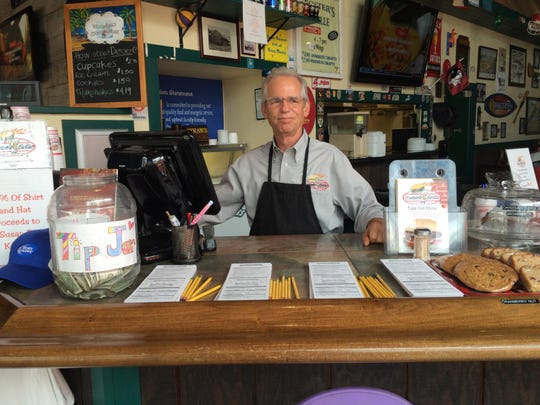 Steve Auman, proprietor of Foster's Grille, says students are always welcome.