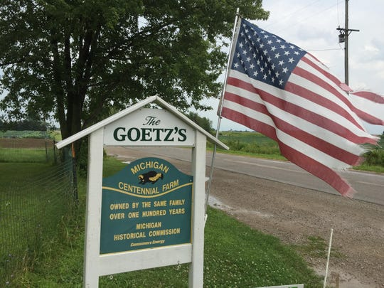 The Goetz Family Farm in Riga has been coming to the Farmington Farmers Market for the last 10 years.