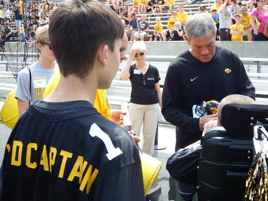 competitive price 6201a a04cb University of Iowa coach Kirk Ferentz testifies in ...