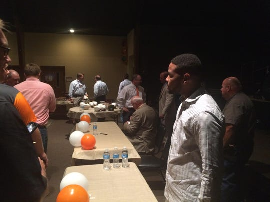 Former Tennessee football player Inky Johnson was in