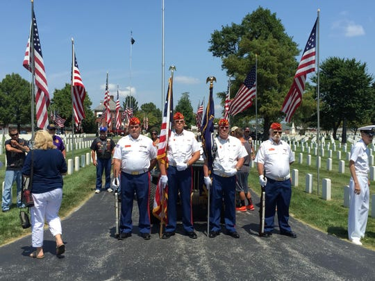 Members of the Marine Corps League Det. 993 presented