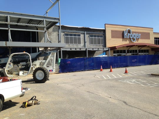 Kroger is hoping for an October completion date at 35 W. University Parkway.