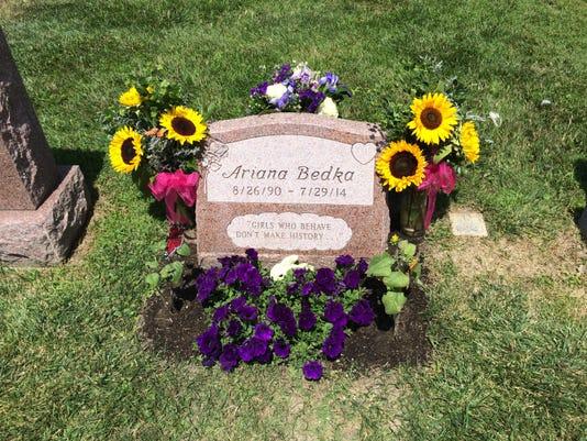 Ariana Headstone