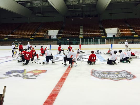 Prowlers prospect camp