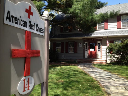 American Red Cross office in Somerville before the building was sold to Edison Research.
