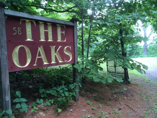 The Oaks, the former home of Maxfield Parrish, in Plainfield, New Hampshire.