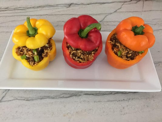 Stuffed peppers pic