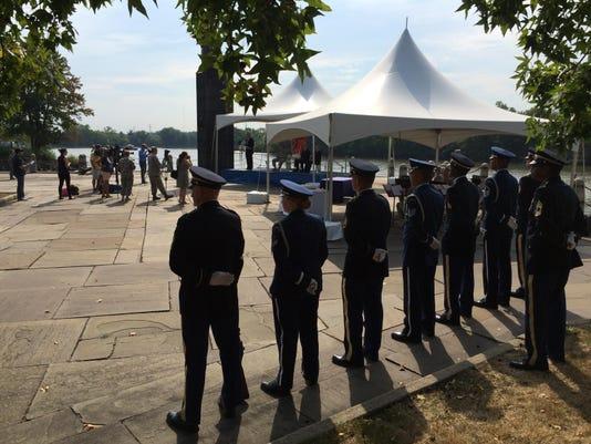 Guard 360 ceremony
