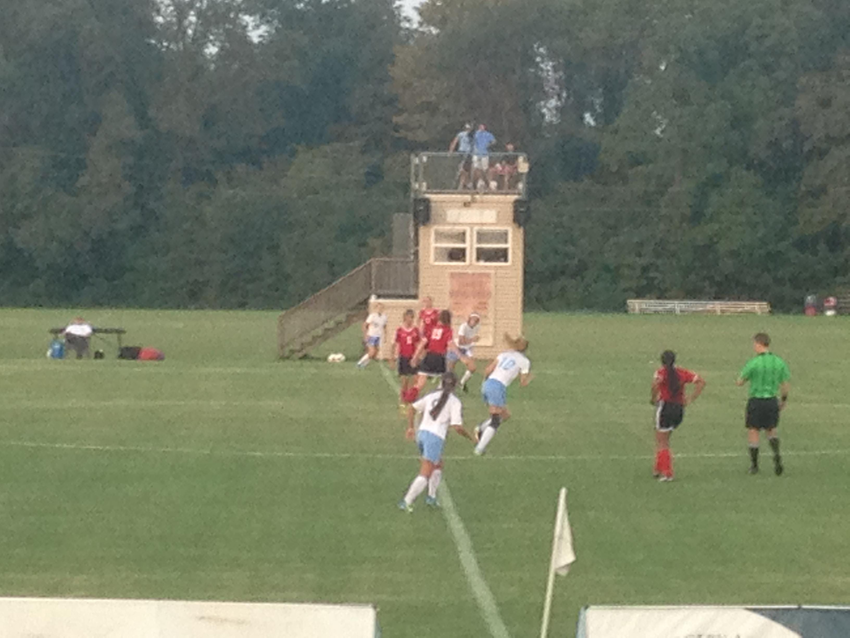 USJ and Lexington get their soccer game underway Thursday in Jackson.
